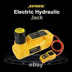 12V Electric Hydraulic Car Jack 6 Ton SUV Truck Floor Jack Kit Tire Repair Tool
