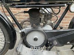 1925 Velocette Model B 250 Two Stroke Rare Vintage Motorcycle Vintage Bike