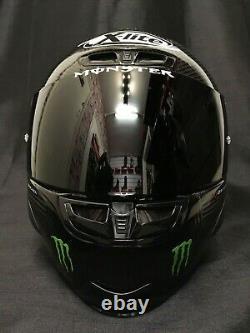 2021 X-Lite X803 RS HOT LAP Carbon Dark Visor Motorbike Helmet Monster
