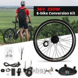 20inch Electric Bike Bicycle Conversion Kit E-Bike Front Wheel Motor Hub 250W36V