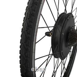26''/28'' 1000W 1500W E Bike Umbausatz Elektrofahrrad Ebike Motor Kit Conversion