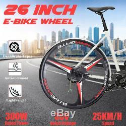 26'' 36V 300W Rear Wheel Conversion Kit Electric Bicycle Motor E-Bike Cycling