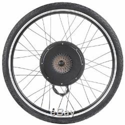 26 Electric Bicycle Motor Conversion Kit Front Rear Wheel E Bike Hub 500W 1000W