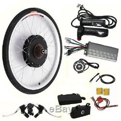 2648V 1000W Electric Bicycle Motor Hub Conversion Kit E-Bike Speed Rear Wheel