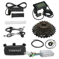 281000W Rear Bike Wheel Electric Bicycle Conversion Kit Motor LCD Meter