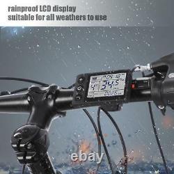 36/48V 1500W Brushless Motor Controller LCD Panel Kit für E-Bike Elektro Scooter