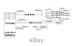 36V350W 26 Rear Motor Cassette E-Bike Hub Conversion Kit 36V12.5Ah Battery
