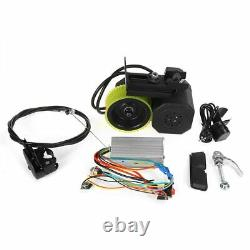 48V 200W Bicycle Speed Booster Kit Friction Drive Motor Electric Bike UK FREE
