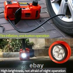 5 Ton Electric Hydraulic Jack Car Floor Jack with Inflator Pump Impact Wrench