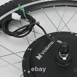 500W Electric Bicycle E Bike Conversion Motor Kit 26 Front Wheel Thumb Throttle