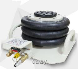 6600lbs Triple Bag Air Jack 3 Ton Air Jack Pneumatic Air Bag Jack Lifting Tool