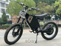 72V 3000W Adult Electric Full Suspension Off-road E Dirt Bike Motorcycle 35 MPH