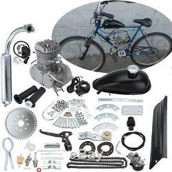 80CC 2-Cycle Motor Engine Kit Motorised Bicycle Motorized Push Bike 45km/hour