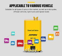AUTOOL Automotive Smoke Machine EVAP Leak Detector pipe leak testing Diagnostic