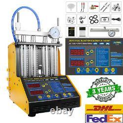 AUTOOL CT150 Ultrasonic Fuel Injector Tester Cleaner for 12V 24V Car Van Motor