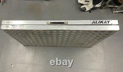 AliKat Lightweight Aluminium Folding Motorcycle Work Bench, Race Bike Bench