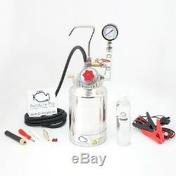Automotive Smoke Machine Boost Leak EVAP Vacuum Tester ADJUSTABLE PRESSURE