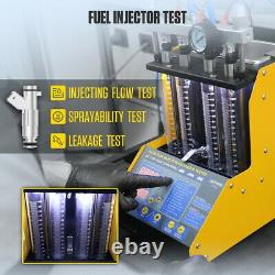Autool CT150 Car Ultrasonic Fuel Injector Tester Cleaner 4 Cylinder 220V EU Plug