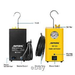 Autool SDT202 Car Smoke Leak Detector Smoke Machine Leakage Diagnostic Tester