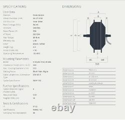 BAFANG E-Bike Vorderrad Motor 250W 36V Front FWD G311 FM. G311 26-29 Nabenmotor