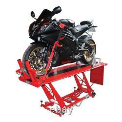 Biketek Hydraulic Motorcycle Workshop Lift Table Heavy Duty Ce Approved