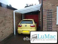 Carport motorcycle car bike canopy cover patio decking canopy shelter lean to