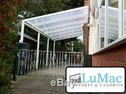 Carport motorcycle car bike motorbike cover patio decking canopy shelter lean to
