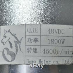 Complete 48v 1800w Brushless Motor Controller Battery kit Electric Bike Scooter