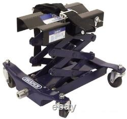 Draper 53095 150Kg Floor Transmission Jack Gearbox Scissor Type Axles Transfere