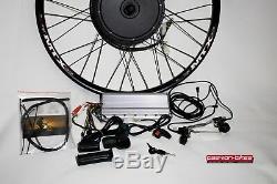 E-Bike Umbau-Kit 3000 Watt Heck Motor 28/29 Racing bis über 80kmh