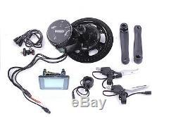 E-Bike Umbau Kit BAFANG G340 BBS01 36V 350W Mittelmotor Umrüstsatz Display C961