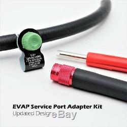 EVAP Smoke Machine Automotive Vacuum Diagnostic Leak Detection Tester & Adapters