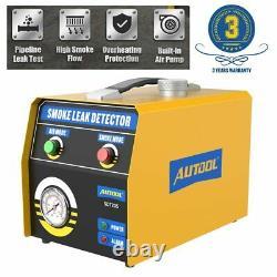 EVAP Smoke Machine Automotive Vacuum Diagnostic Leak Detection Tester Air mode