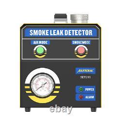 EVAP Smoke Machine Car Truck Boat Leak Detector Pipe Exhaust Intake Vacuum Test