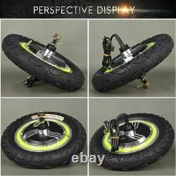 Electric Bicycle E-Bike Hub Motor Brushless Non Gear 12Inch 24V 36V 48V 350W