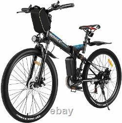 Electric Bikes Electric Mountain Bike 26 Folding E-Bike High Motor City Bike UK