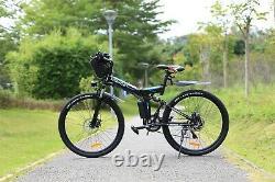 Electric Bikes Electric Mountain Bike #26 Folding E-Bike SUP-Motor City-Bicycle