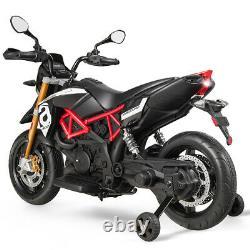 Electric Kids Ride on Motorcycle Liscensed APRILIA DORSODURO 900 12V Motor Bike