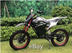 Electric Off-road Bike Motorcycle Dirt Bike Electric Bike Black