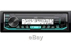 FOR HARLEY PLUG AND PLAY MARINE JVC BLUETOOTH USB AUX RADIO With THUMB CONTROLS