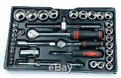Garage Tool Box Car Motorcycle Repair Set Hand Tools Home Service DIY 155pcs Kit