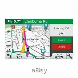 Garmin Zumo 395LM Motorcycle GPS Navigation 010-01602-00 Lifetime Map, Bluetooth