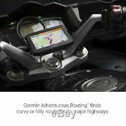 Garmin Zumo 396LMT-S Motorcycle GPS Navigator Bundle