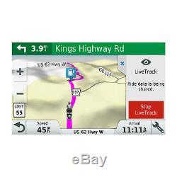 Garmin zumo 595LM Motorcycle GPS Bluetooth Smart Notifications 010-01603-00