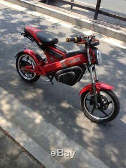 Gomiek 1500with60v Folding Electric Motorcycle Ebike Scooter NEW