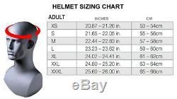 Graphic Custom Painted Motorcycle helmet airbrushed in Skull design bandit style