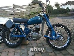 Greeves vintage scrambler project Villiers 250 Hawkstone 1962 genuine pre-65