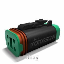 Harley-Davidson 4-pin J1850 diagnostic scan tool codereader Scanner 4 smartphone