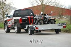 Harley Davidson Motorcycle Trailer 1300kg Single Axle Two Bike Trailer Al-ko