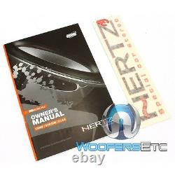 Hertz Hcx-690 6 X 9 130w Rms 3-way Hi-energy Coaxial Motorcycle Speakers New
